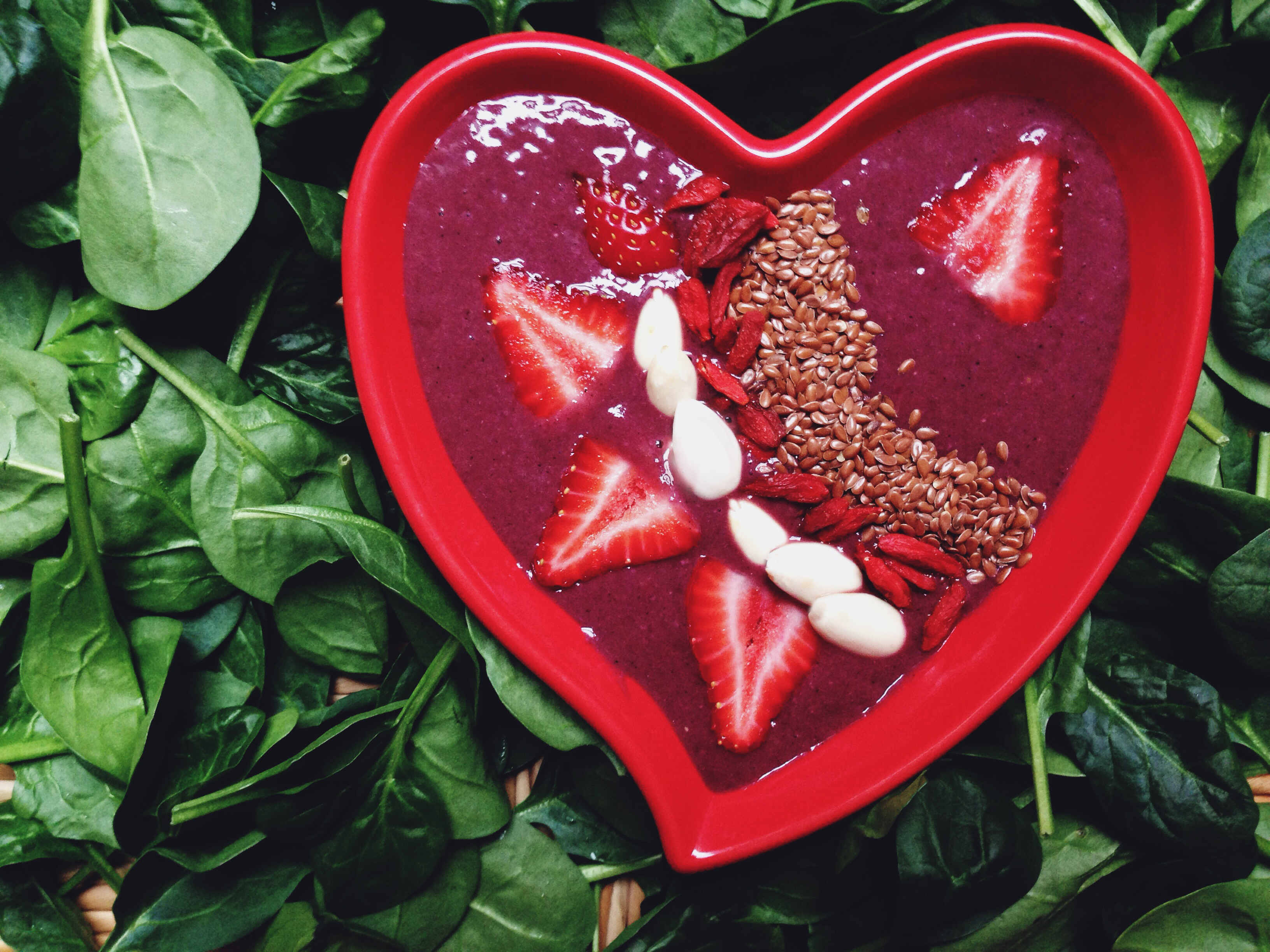 Image result for valentines smoothies bowls