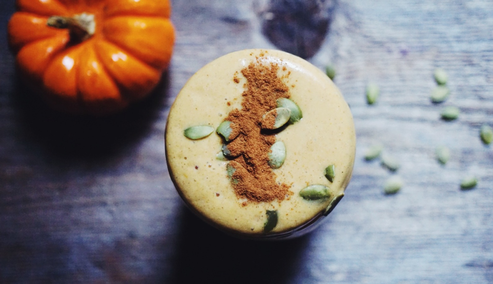The Ultimate Fall Spiced Pumpkin Pie Smoothie (It's Vegan ...