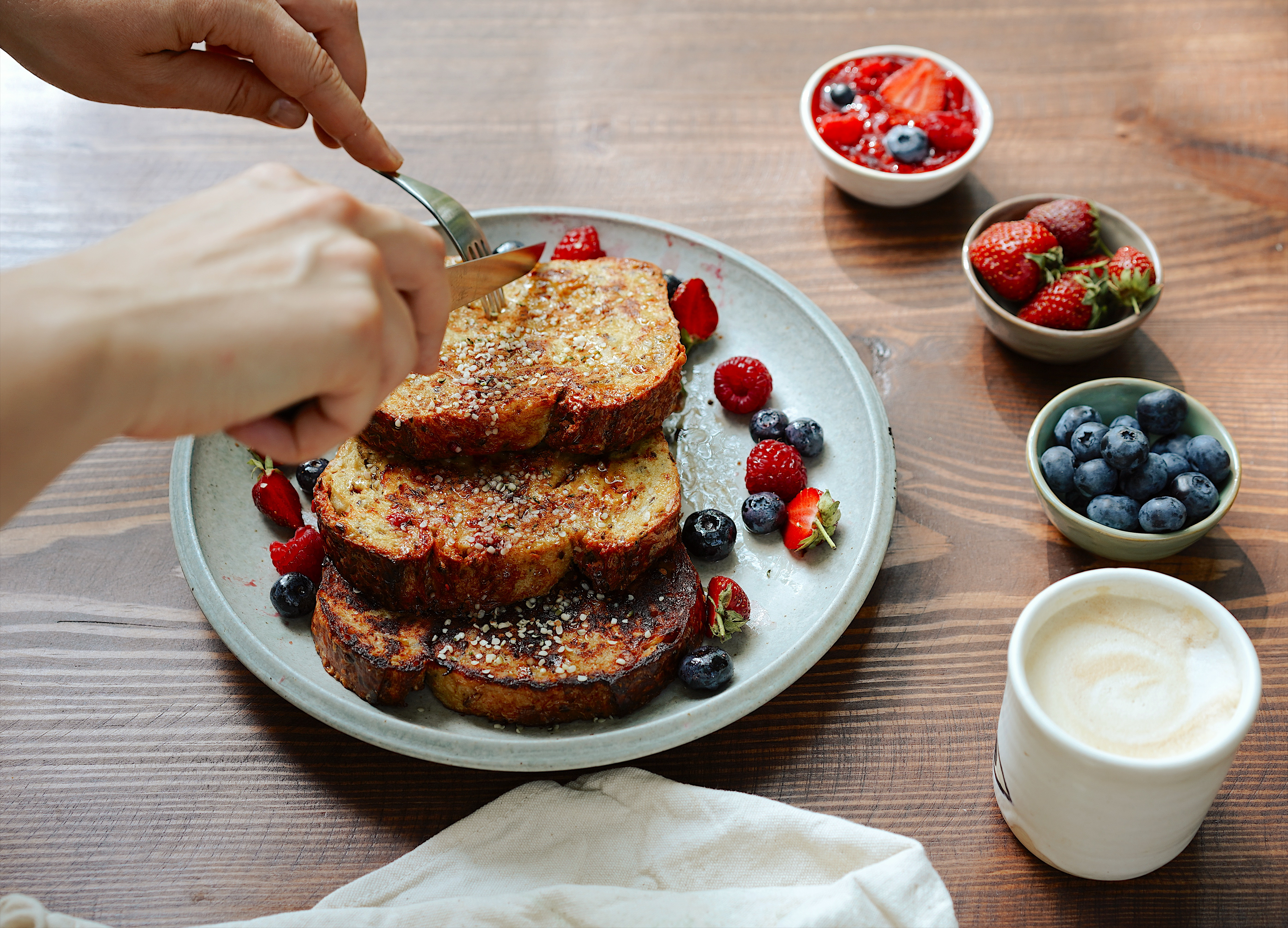 Oat Milk French Toast Recipe with Oatly   Breakfast Criminals